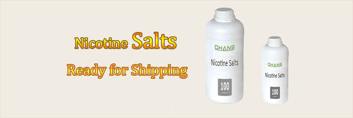 nicotine salts is ready for shipping.